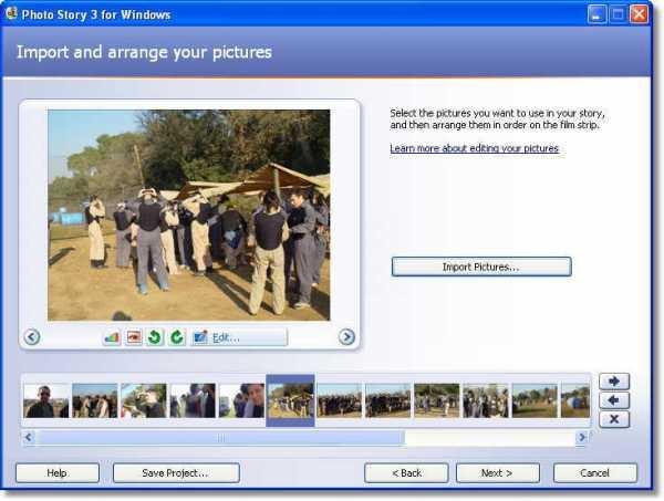 How to create slideshows with microsoft photo story 3 for windows xp.
