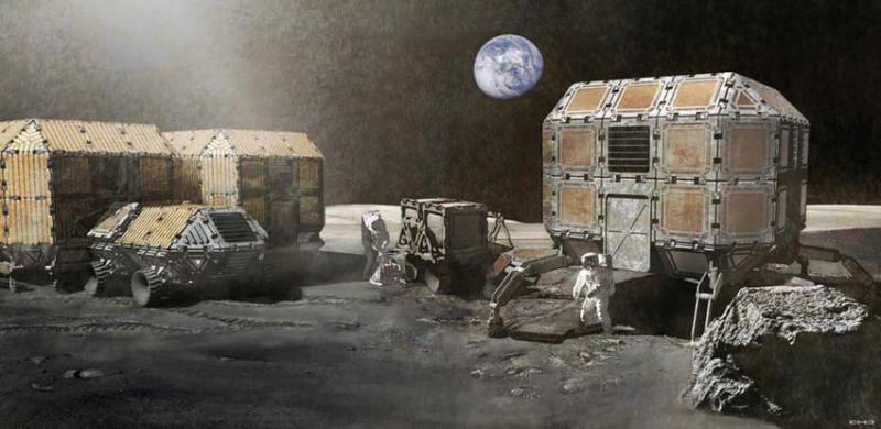 Lunar habitat 1