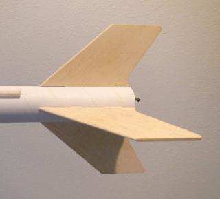 Model rocket fins
