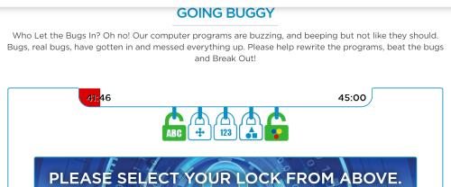 Coding breakout